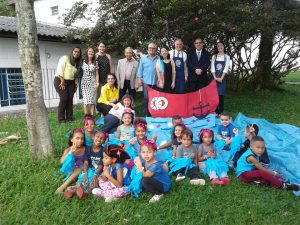 VISITA DO GOVERNADOR DO ROTARY CLUB DISTRITO 4420